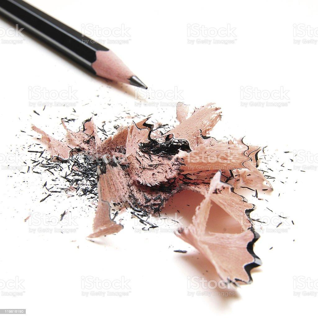 Black pencil stock photo
