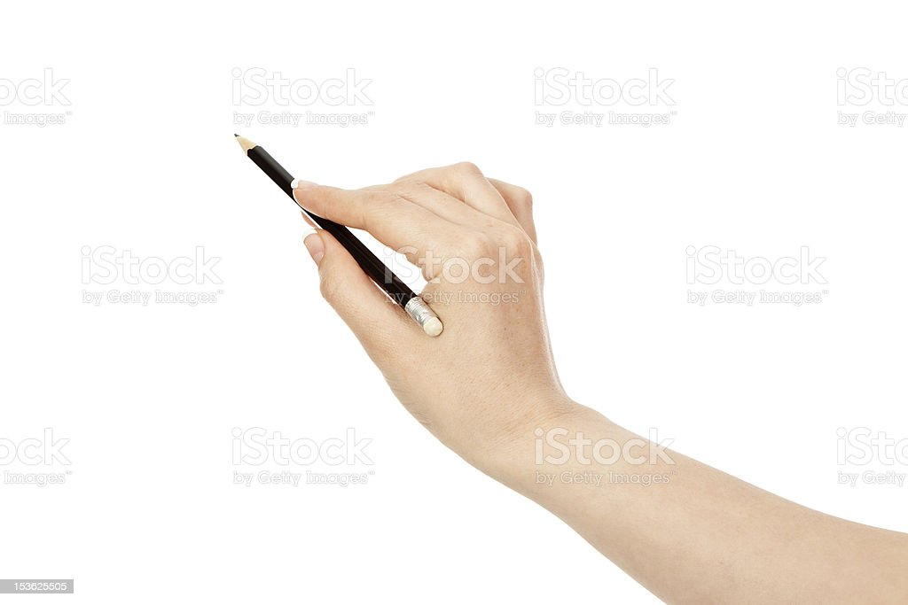 black pencil royalty-free stock photo