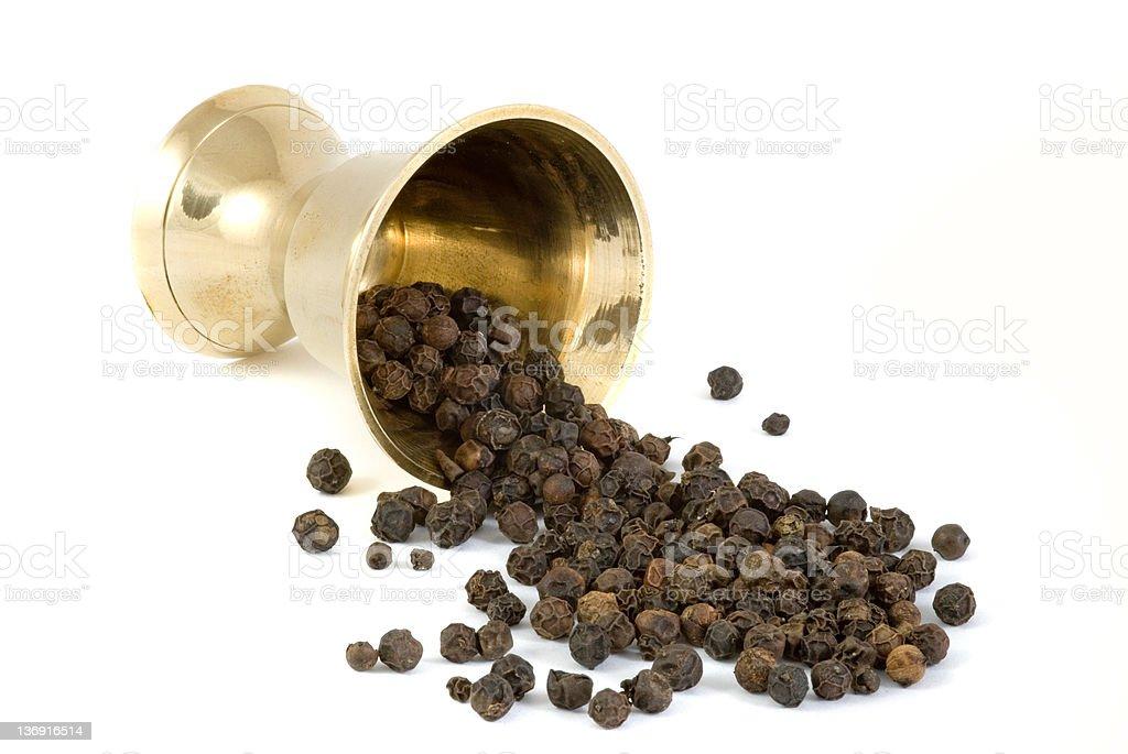Black pepper royalty-free stock photo