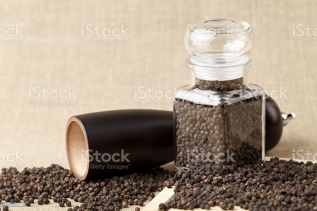 Black pepper royalty-free stock photo