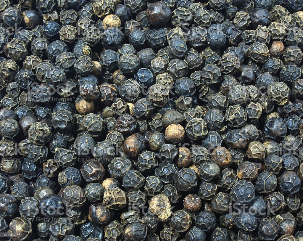 black peppercorns royalty-free stock photo