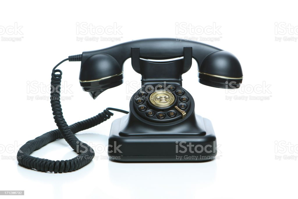 Black Phone royalty-free stock photo