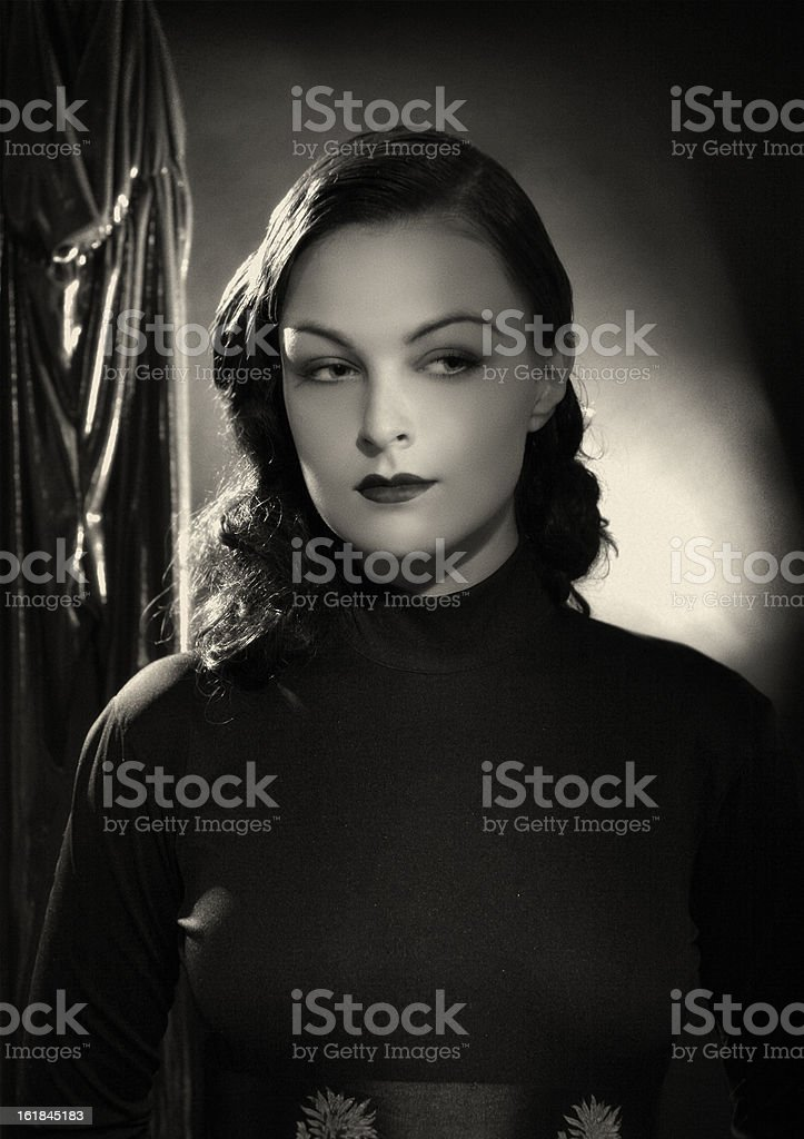 Noir. stock photo
