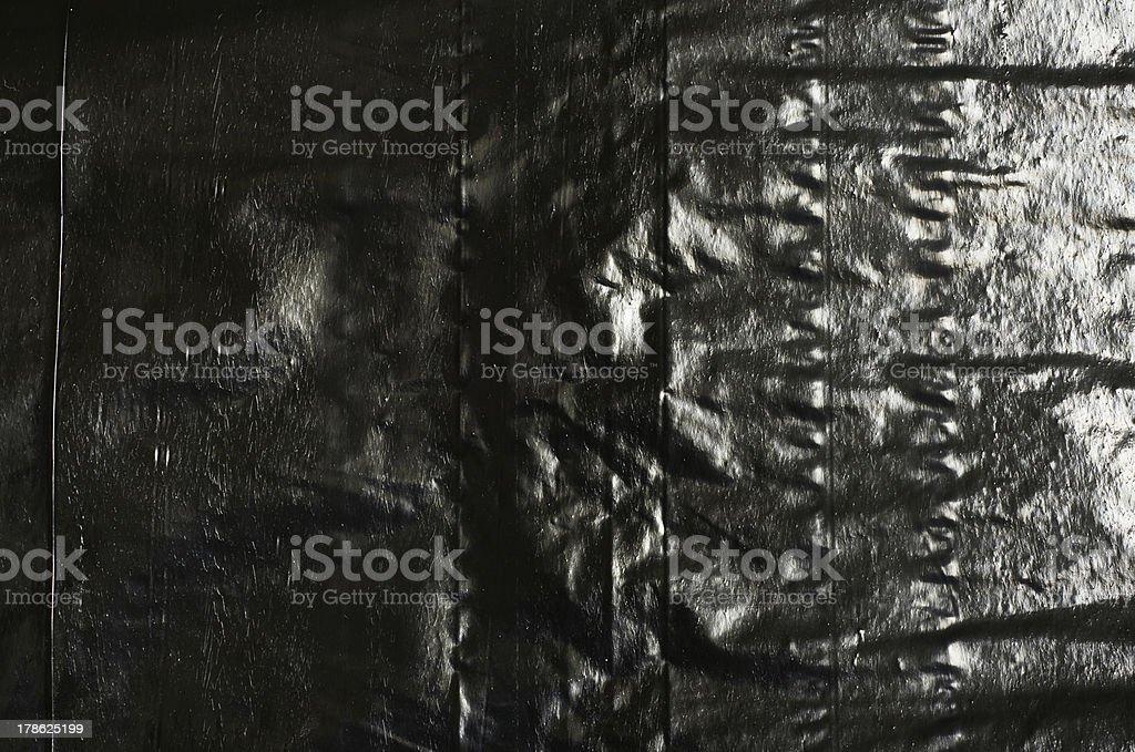 Black Plastic Bag texture royalty-free stock photo