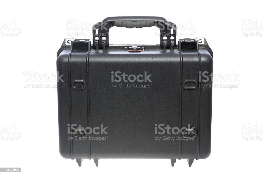 Black protect case royalty-free stock photo