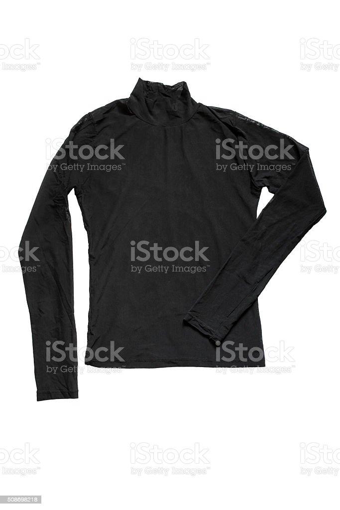 Black pullover stock photo