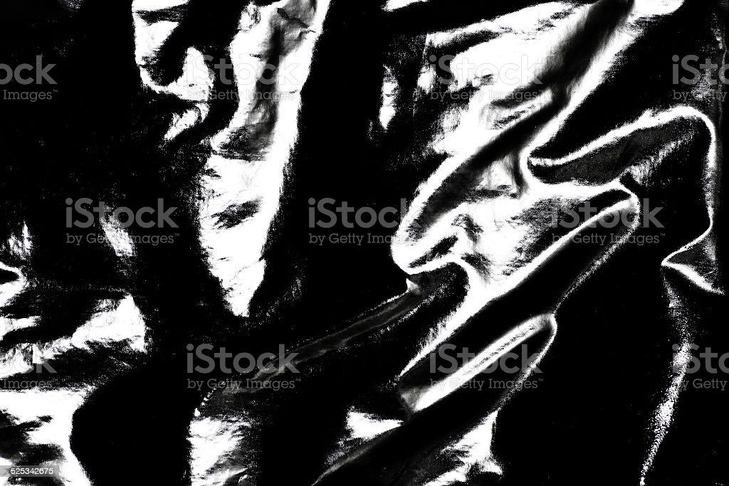 Black Pvc Leather Background stock photo