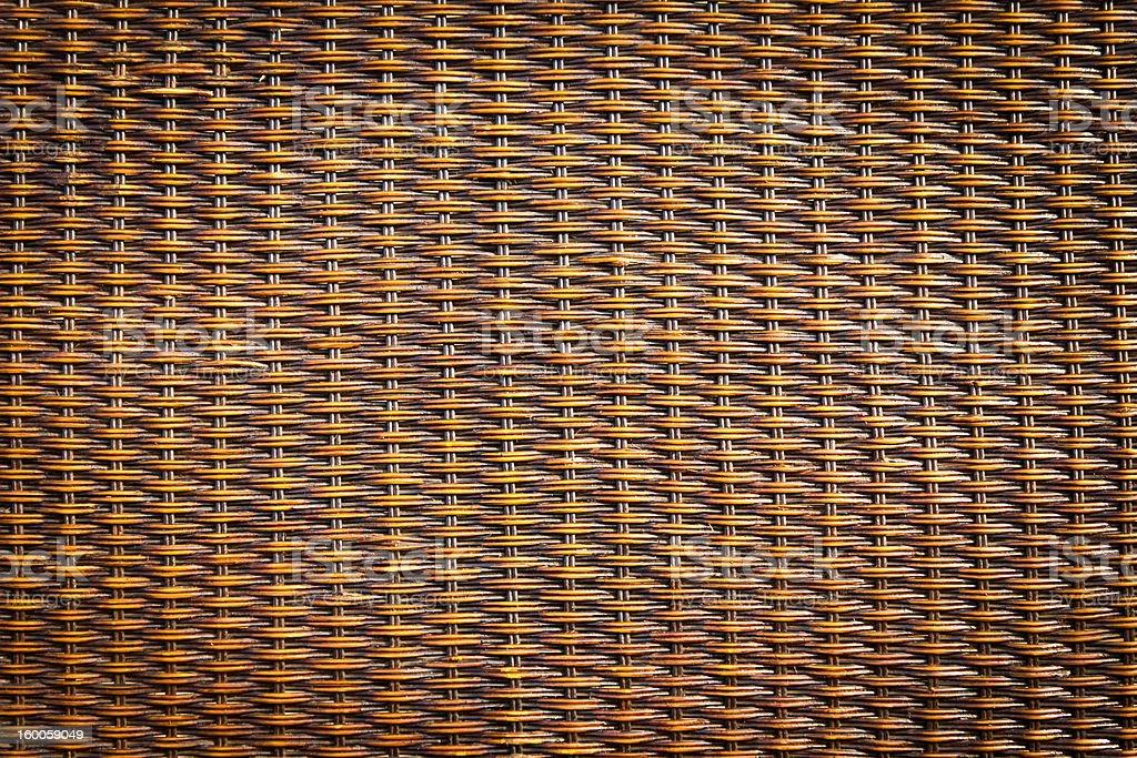 rattan di legno nero foto stock royalty-free