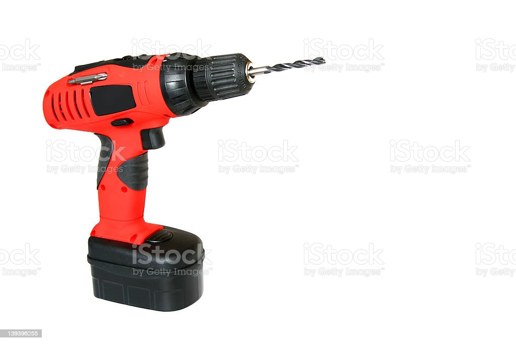 black & red drill royalty-free stock photo
