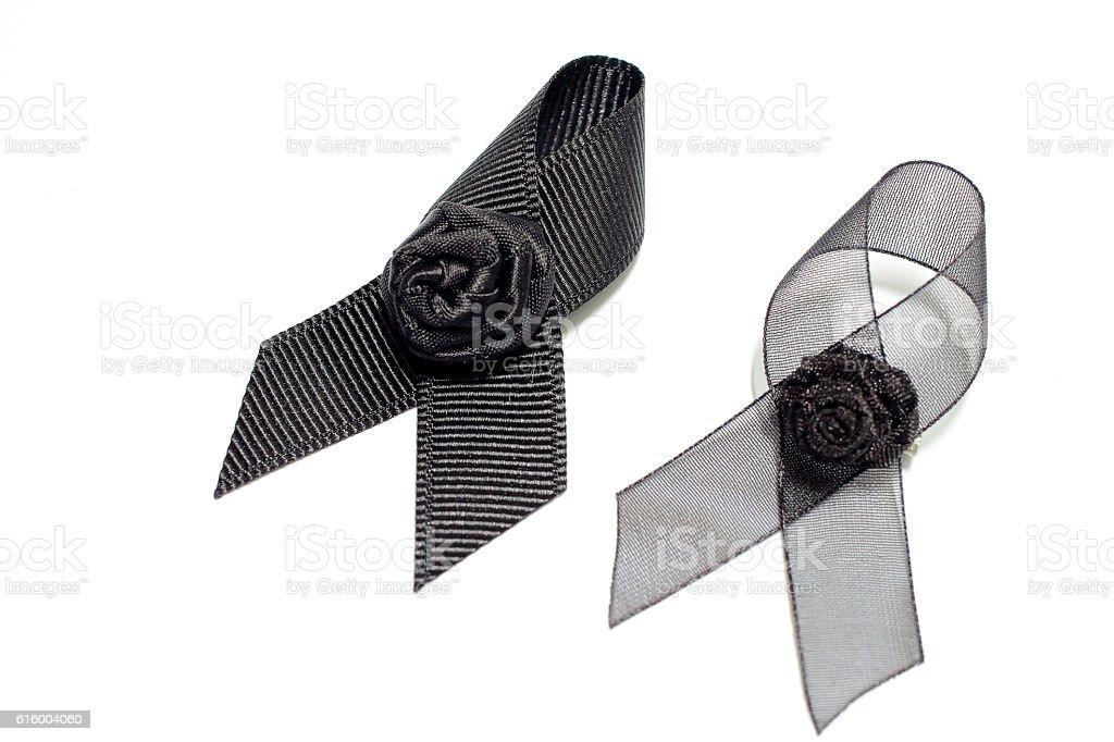 Black ribbon; decoration black ribbon hand made artistic design for...