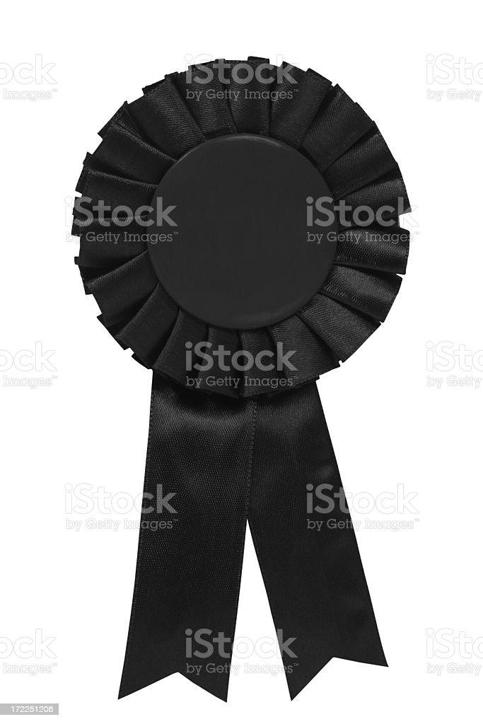 Black ribbon royalty-free stock photo