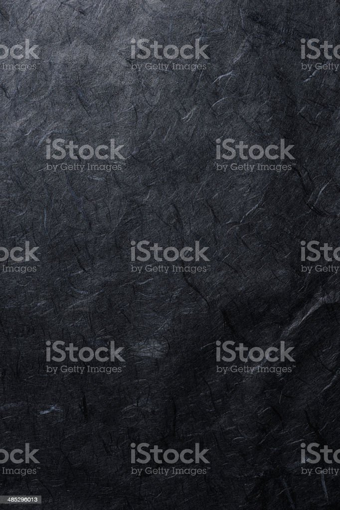 Black rice paper texture background stock photo
