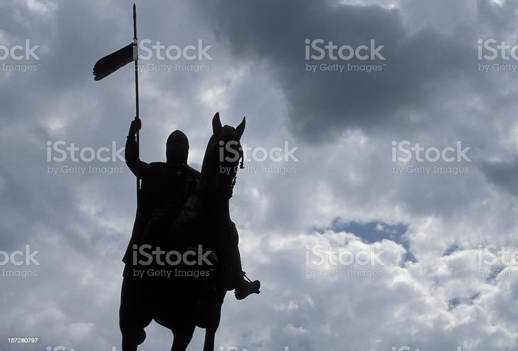 Black Rider royalty-free stock photo