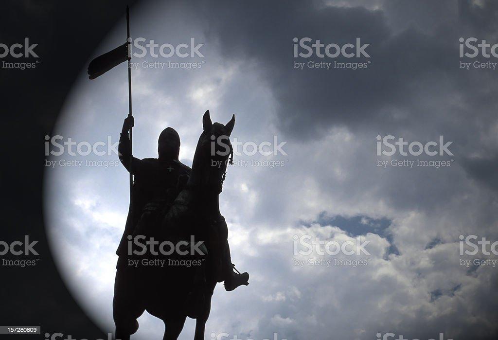 Black Rider stock photo