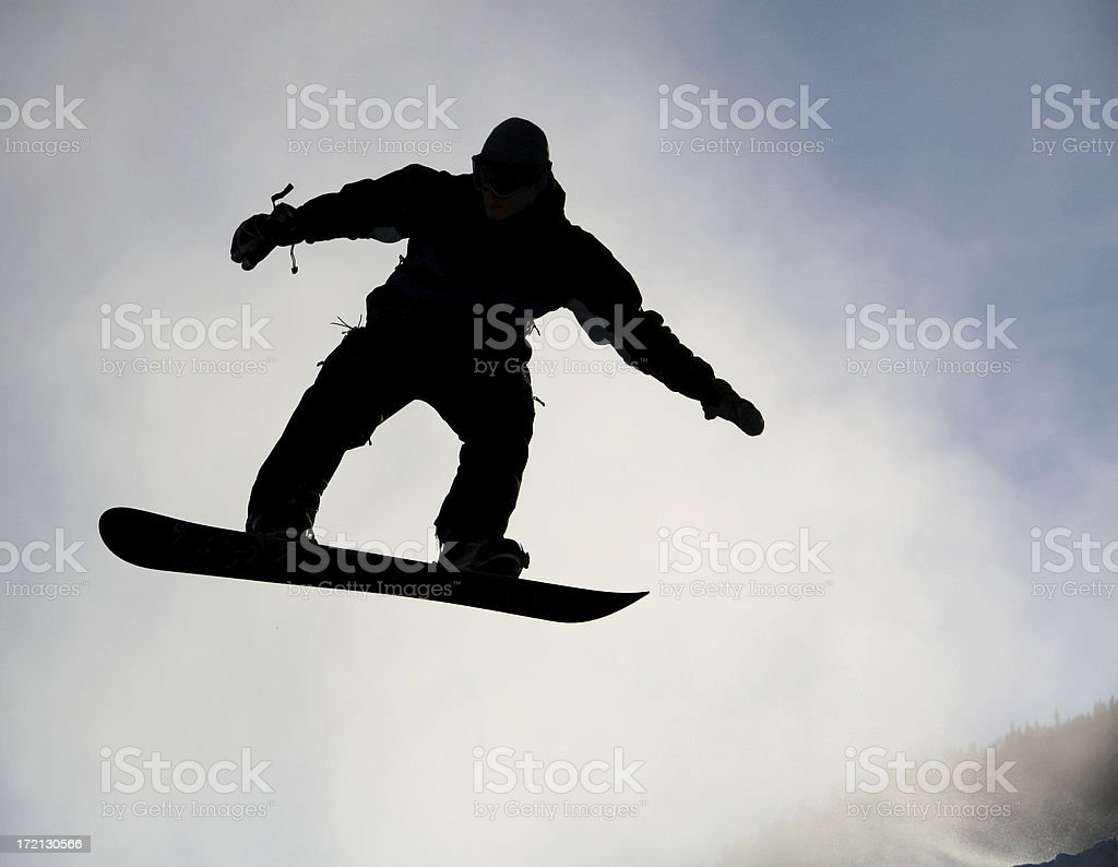 Black Rider royalty-free stock photo