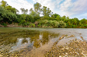 Black river, Romania, Europe