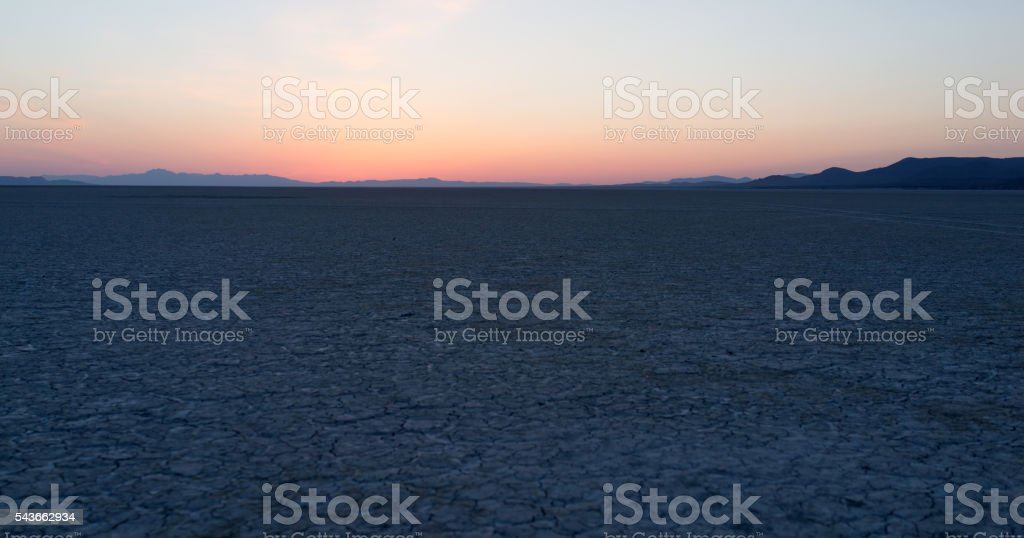 Black Rock Nevada stock photo