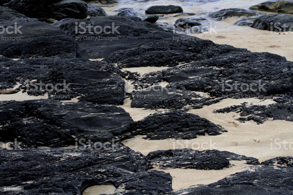 black rock stock photo