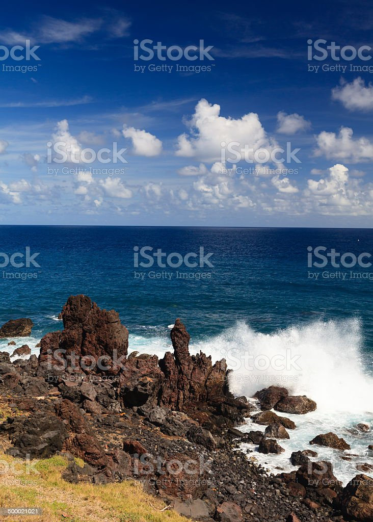 Black Rocks royalty-free stock photo