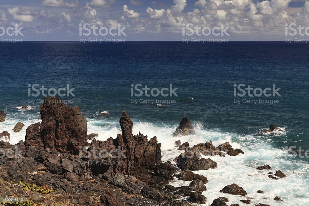 Black Rocks royalty-free stock photo