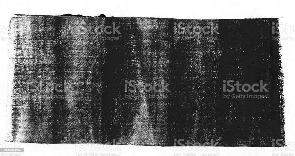 Black rolled ink texture royalty-free stock photo