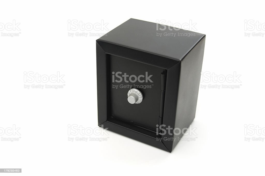 Black safe royalty-free stock photo