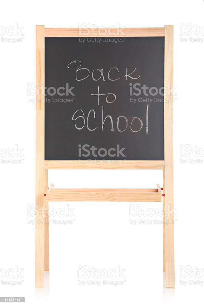 Black school board royalty-free stock photo