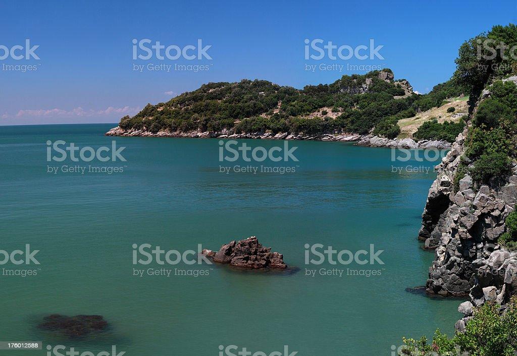 Black Sea Coastline stock photo