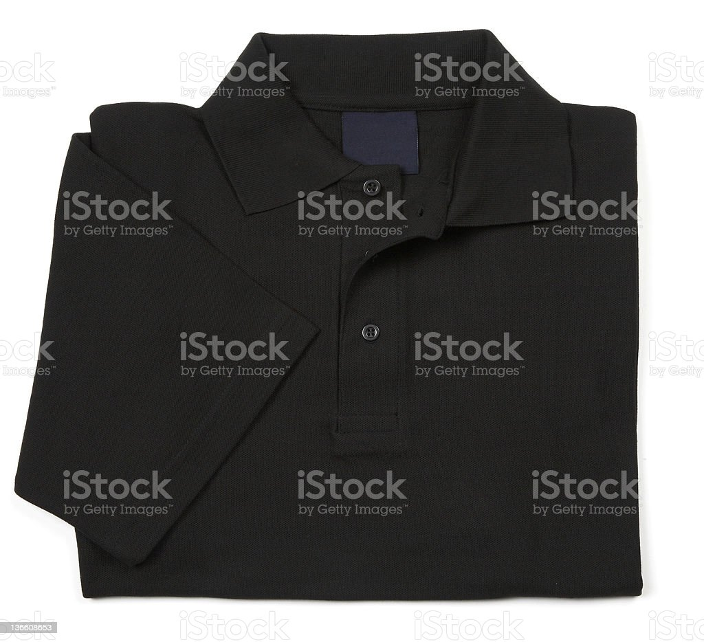 black shirt royalty-free stock photo