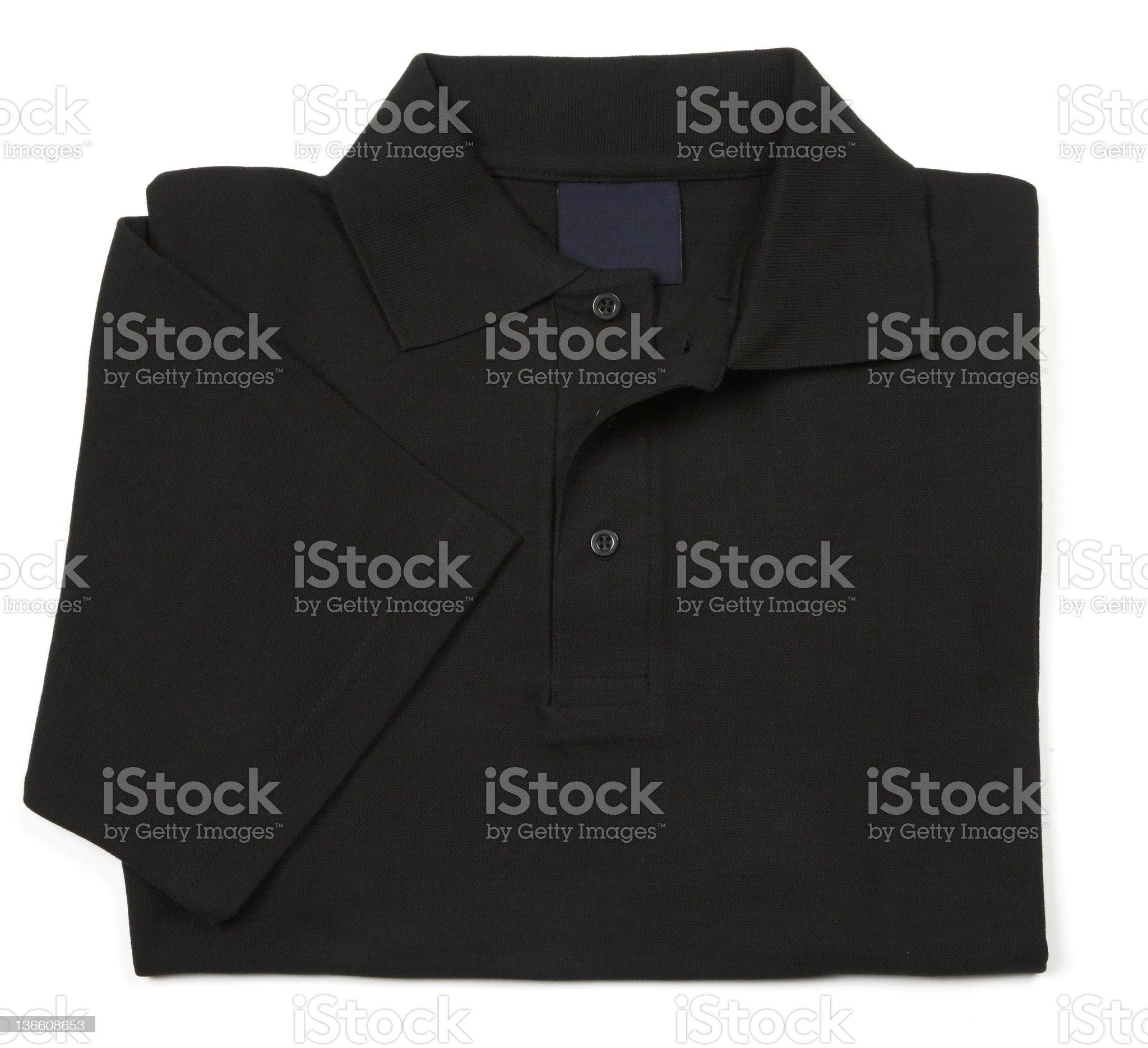 black shirt royalty-free stock photo