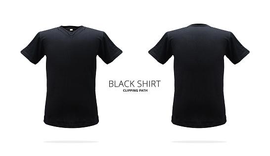 plain blue tee shirt front and back joy studio design gallery best design. Black Bedroom Furniture Sets. Home Design Ideas