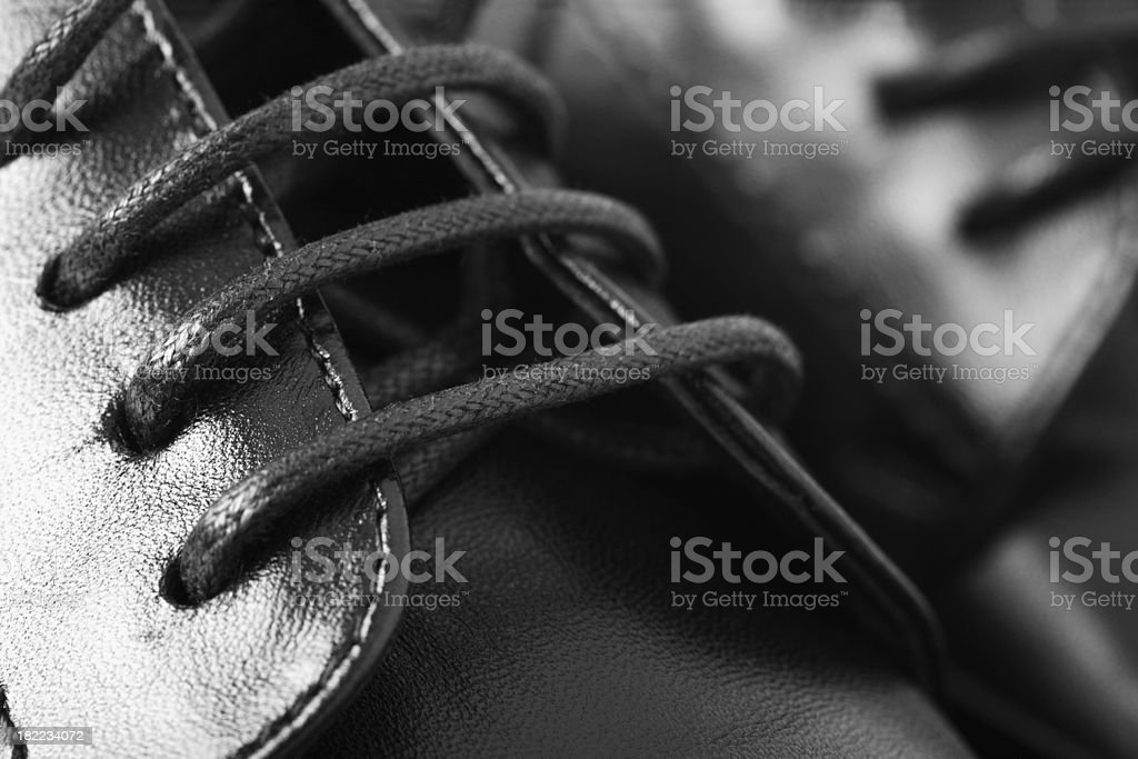 Black Shoes stock photo