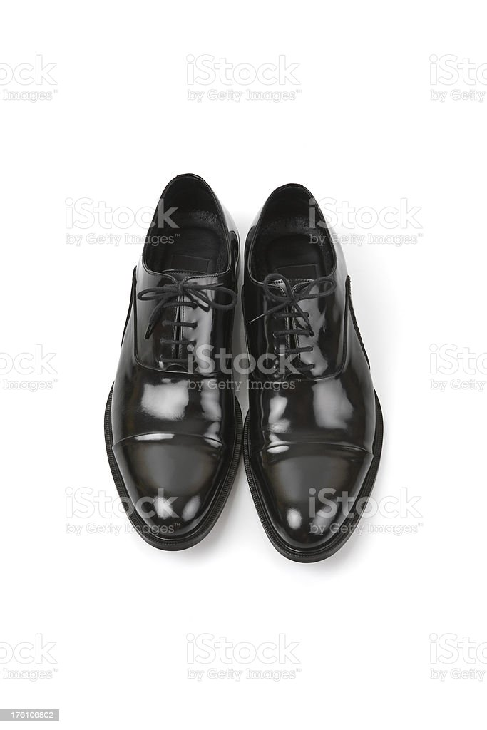 Black Shoes Series stock photo