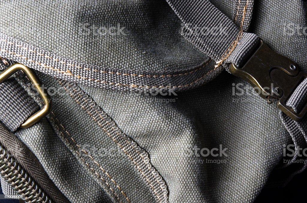 black shoulder bag stock photo