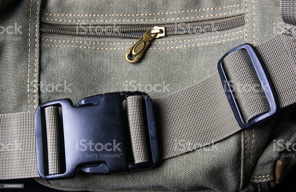 black shoulder bag stock photo
