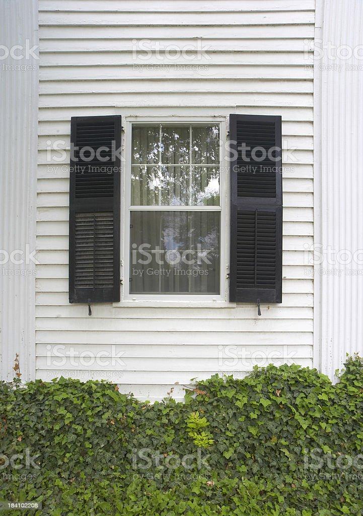 Black Shutters royalty-free stock photo