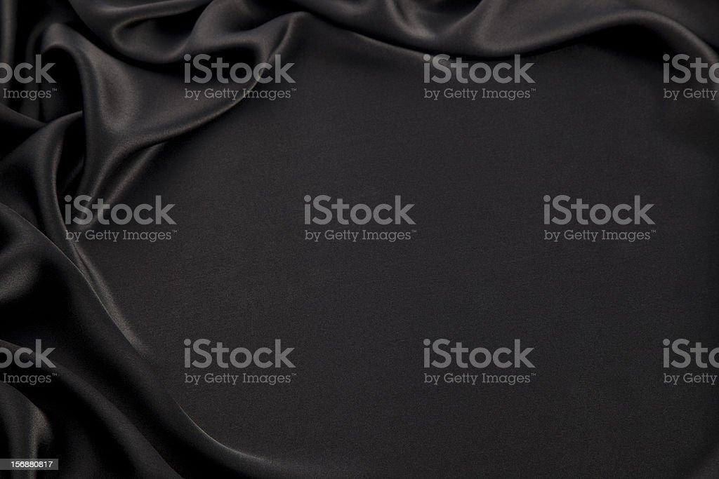 Black silk royalty-free stock photo