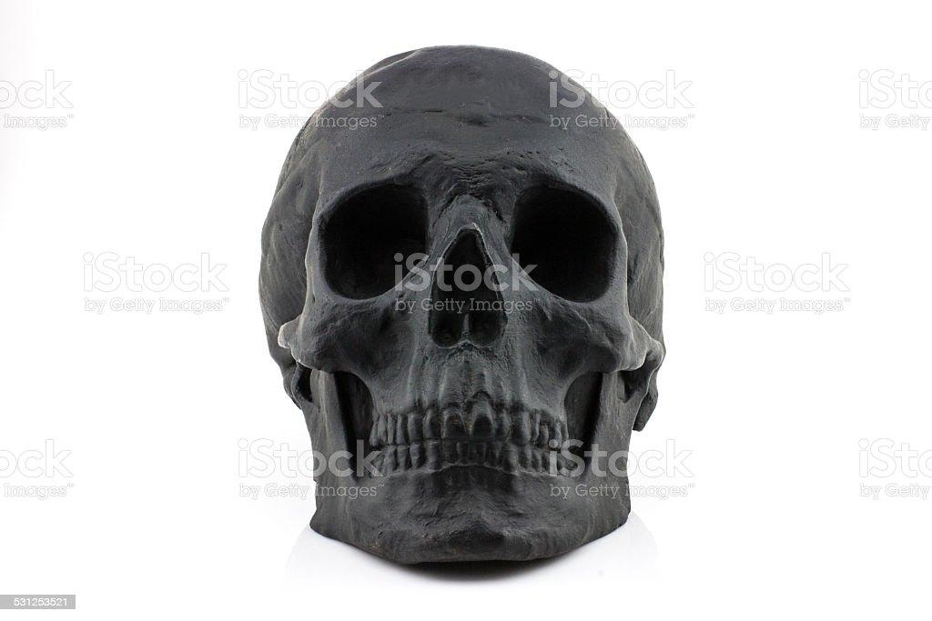 Black Skull stock photo