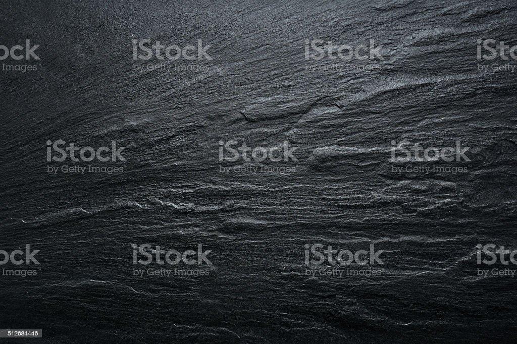 Dark grey / black slate texture, floortile, wallpaper or background....