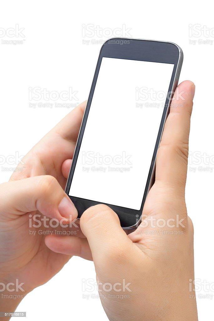 Black Smart Phone stock photo