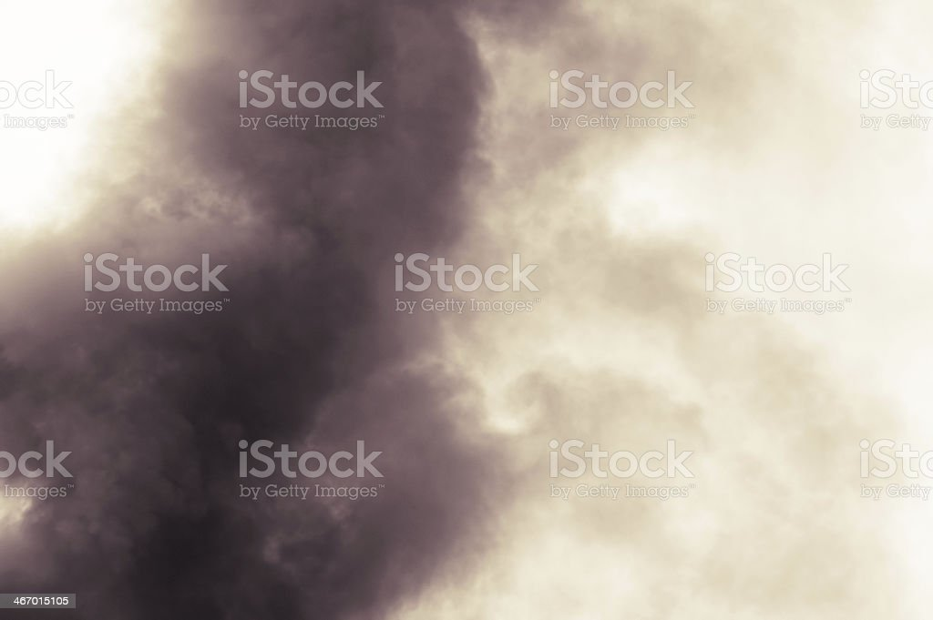 Black Smoke royalty-free stock photo