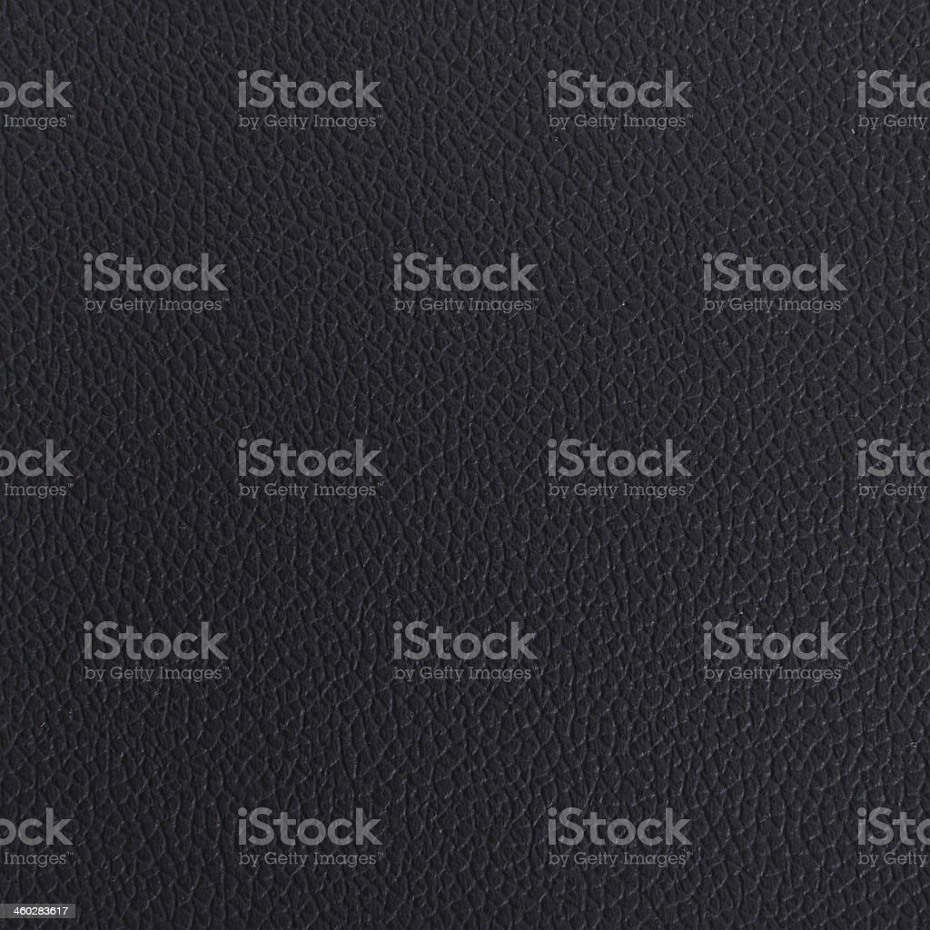 Black smooth leather texture stock photo