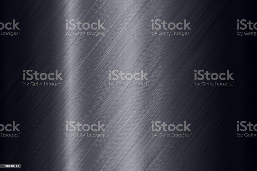 Black steel surface background stock photo