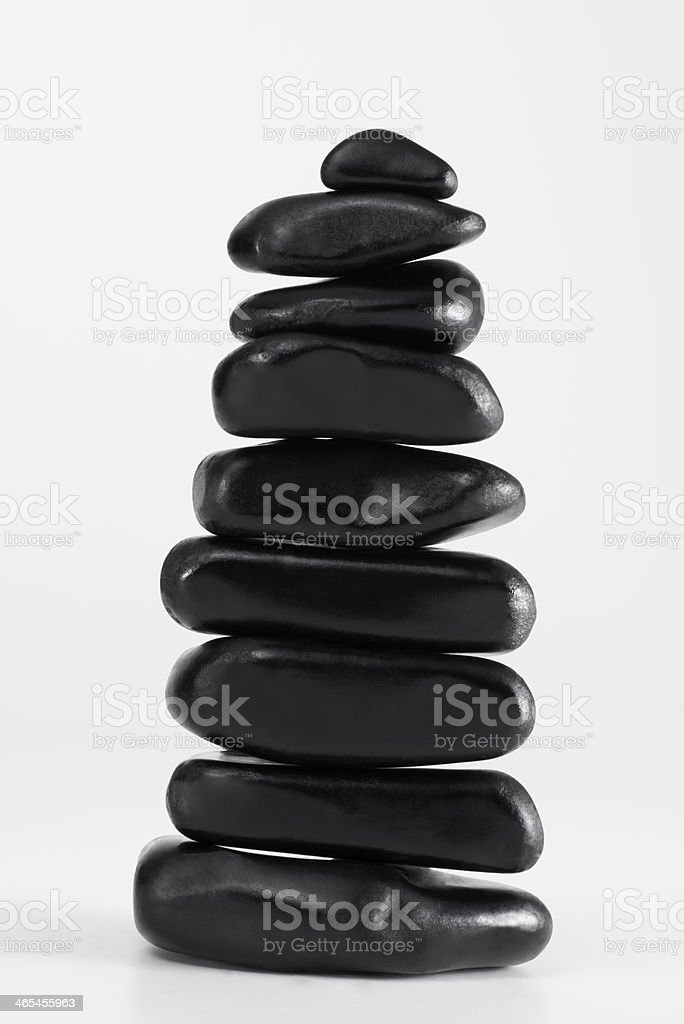 Black Stones royalty-free stock photo