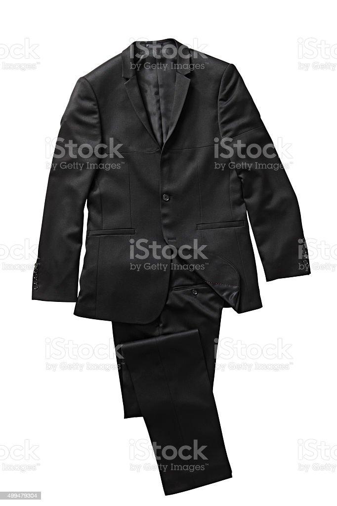 black suit stock photo