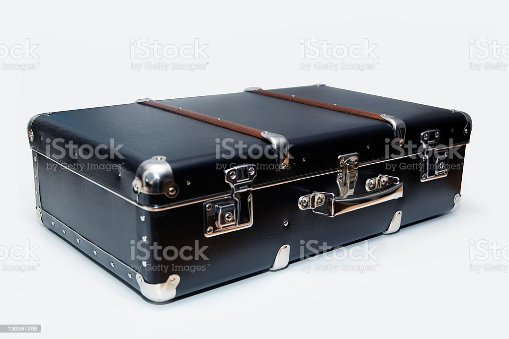 Black suitcase royalty-free stock photo