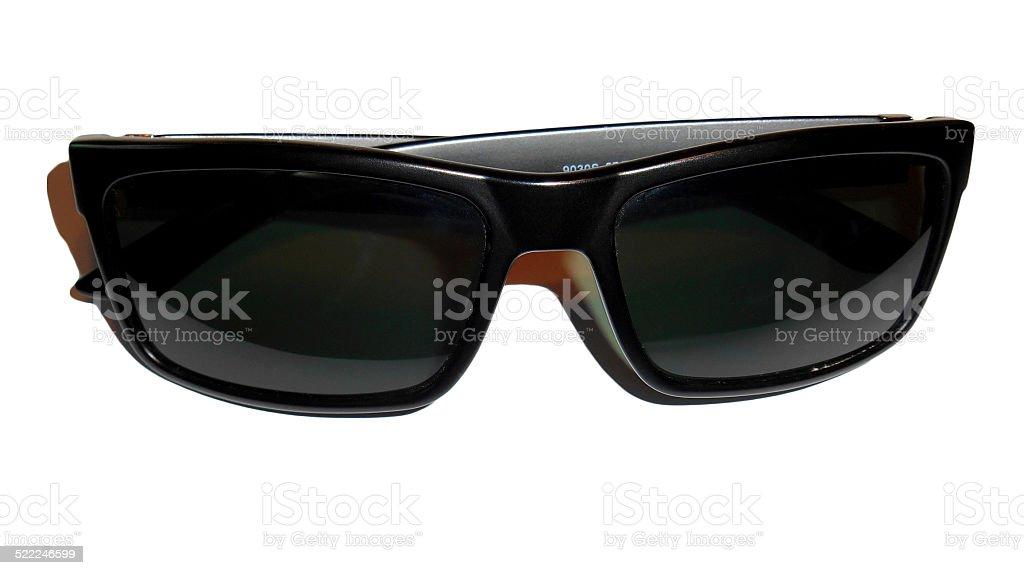 Black sunglasses, Isolated stock photo