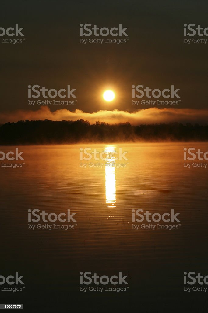 Black Sunrise royalty-free stock photo
