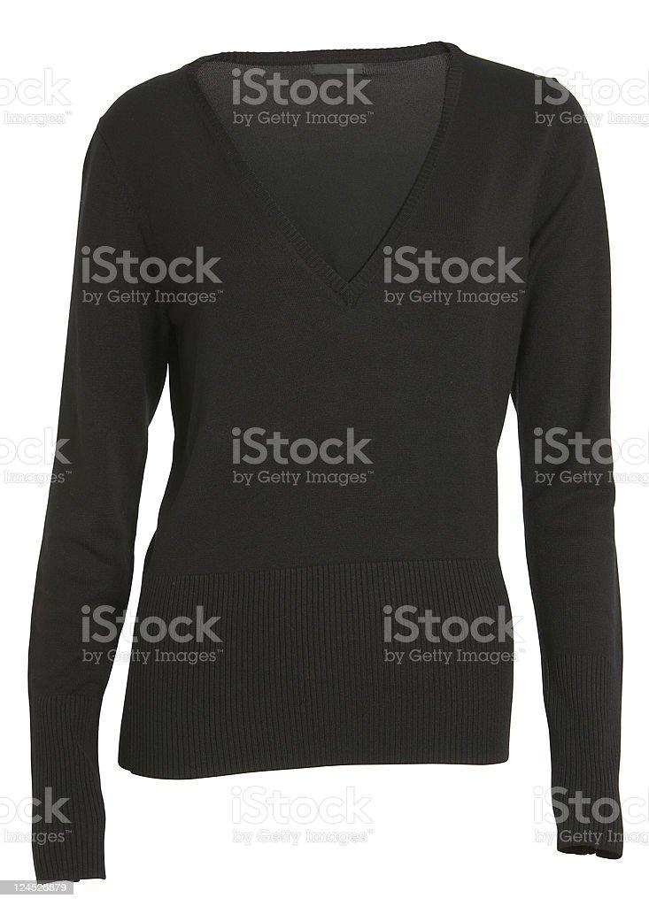 black sweater royalty-free stock photo