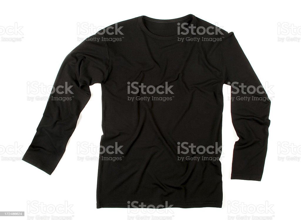 Black Sweat-Shirt (Click for more) stock photo